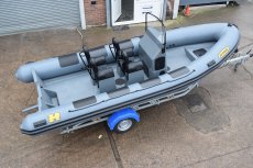 Humber Destroyer 6.0m Professional RIB
