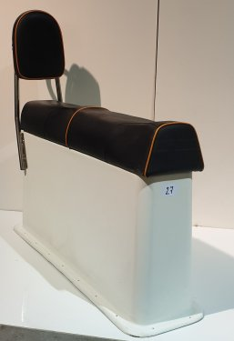 Two Person Slim Seat Module