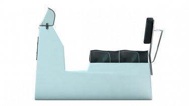 Two Person Standard Console Upholstered Seat