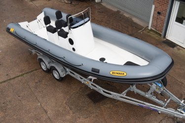 Humber Destroyer Ultra Wide 7.0m RIB