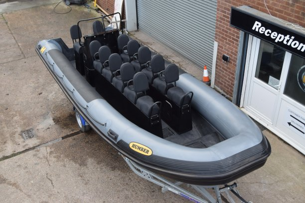 Humber Destroyer Wide 7.0m Seafari RIB